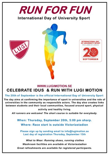 LUGI Motion - RUN FOR FUN